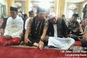 Wakapolri Hadiri Sholat Jum'at berjamaah di Masjid Jami Al Istiqomah