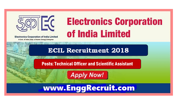 ECIL Recruitment 2018