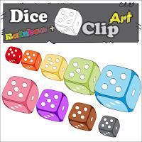 Dice 3D Clip Art