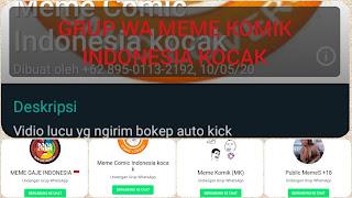 Grup whatsapp memes indonesia lucu