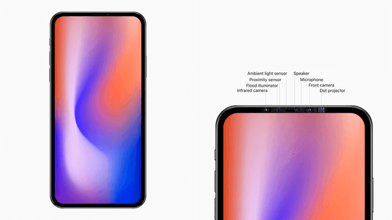 Alleged Apple iPhone 2020 Prototype has a full-screen display, sensors on the bezel