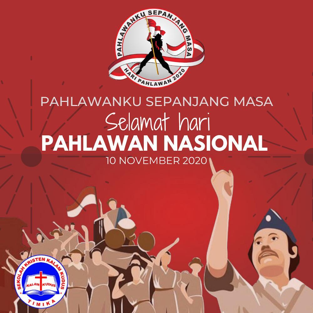 Hari Pahlawan Nasional 10 November 2020