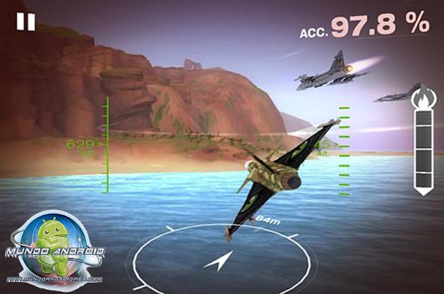 Jugabilidad de Gripen Fighter Challenge