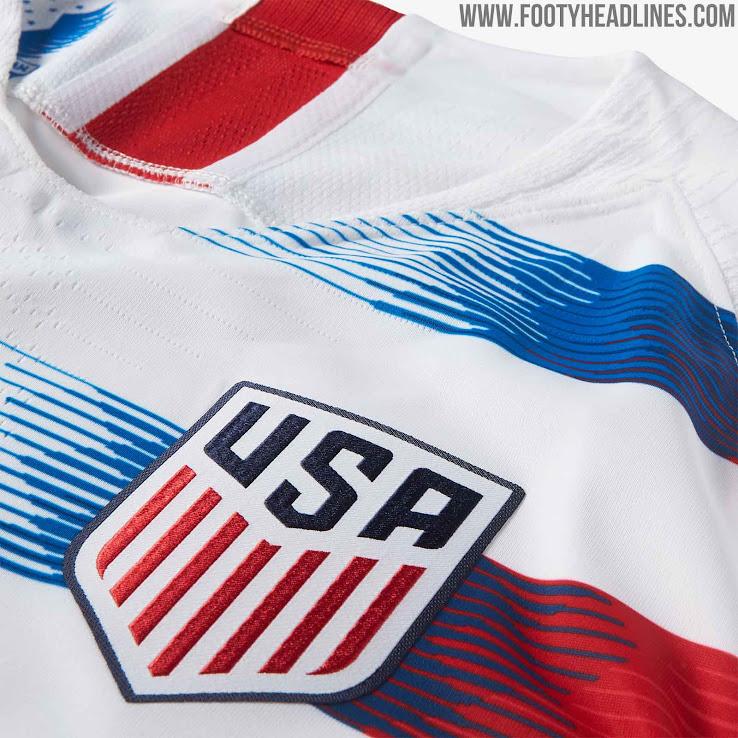 475b6569b Nike USA 2018 Home Kit Revealed - Footy Headlines