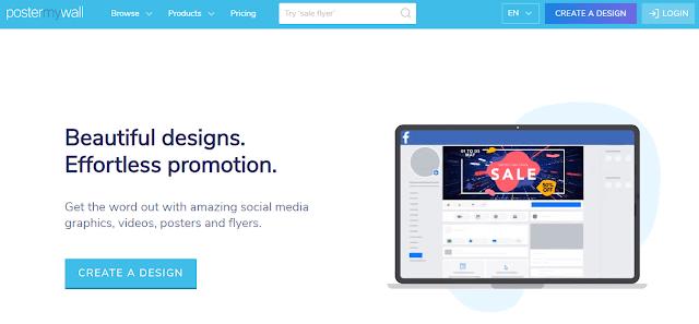 PosterMyWall Digital Marketing Tools