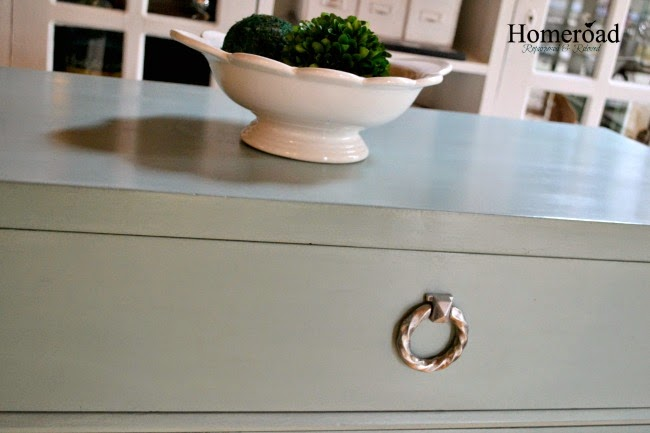 A Beautiful Duck Egg Dresser and Three Great Tips