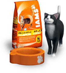 Sims 3 dog food container cc