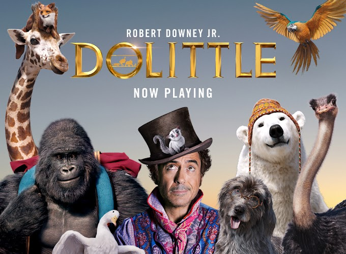 Dolittle (2020) Dual Audio [Hindi DD5.1 & English] BluRay 480p / 720p / 1080p x264 | [x265 HEVC ]