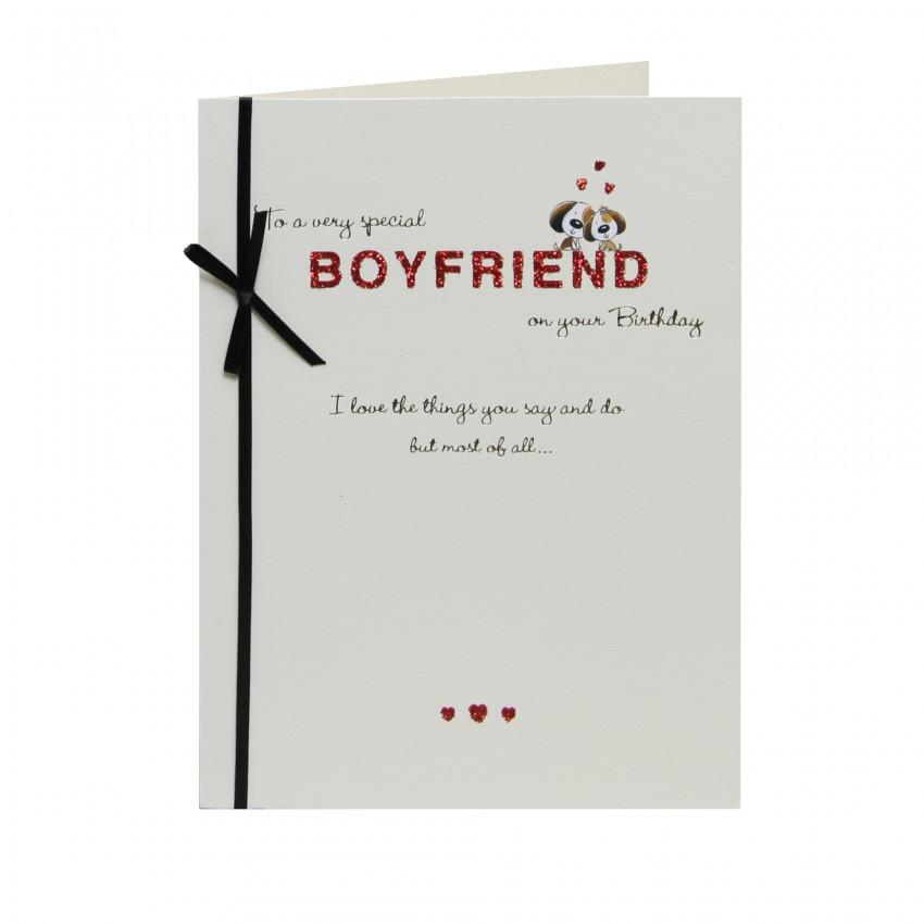 Birthday Wishes For Boyfriend And Boyfriend Birthday Card: Boyfriend Birthday Wishes
