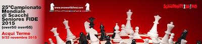 Cartel del XXV World Series Chess Championship