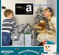 "Concorso Amazon ""#morethanabox"" : vinci gratis 8 buoni Amazon da 100 euro"