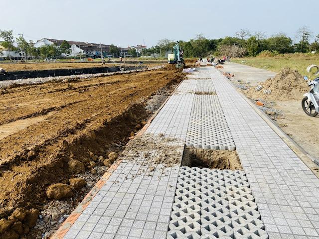 KDC Minh Châu Sóc Trăng tăng tốc hoàn thiện hạ tầng