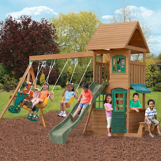 Backyard Play Structures for Children Ideas