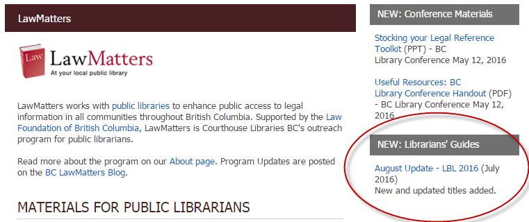 Bc lawmatters 2016 i have included titles that have been updated since our last list march 2016 and added a few new titles as well solutioingenieria Gallery