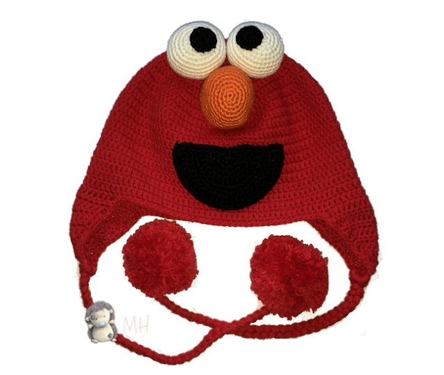 Gorro Elmo a crochet