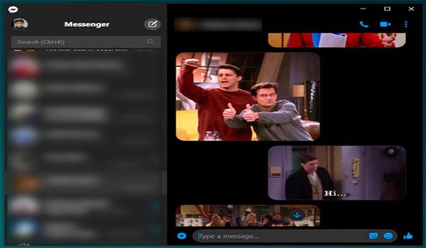 aplicación de escritorio Facebook Messenger para macOS y Windows