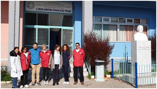 Συμμετοχή των Εθελοντών του Ερυθρού Σταυρού Ναυπλίου στον εμβολιασμό παιδιών Ρομά στο Δήμο Ναυπλιέων
