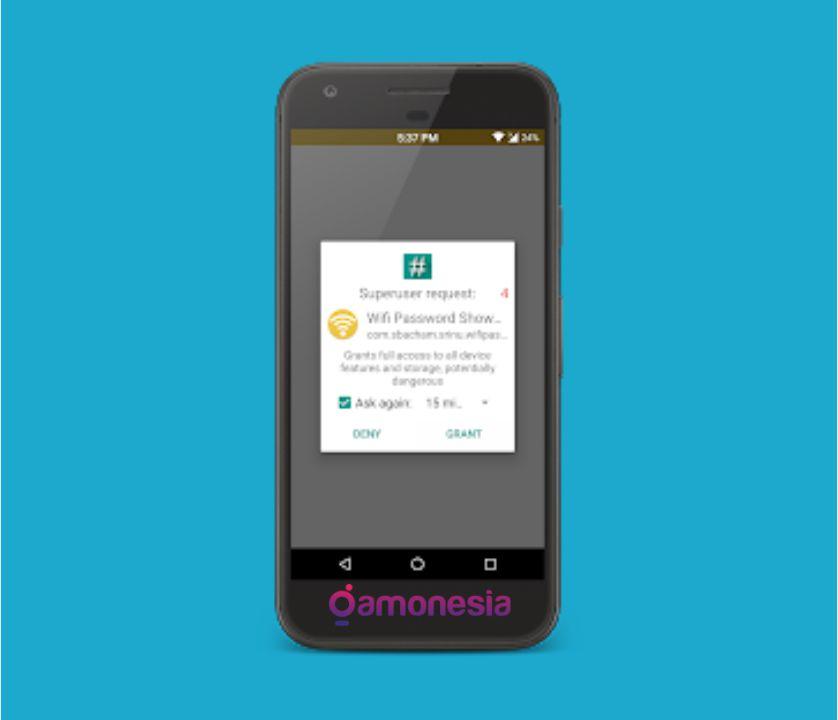 bagaimana cara melihat password wifi di hp android