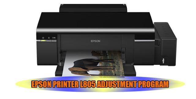 EPSON L805 PRINTER ADJUSTMENT PROGRAM