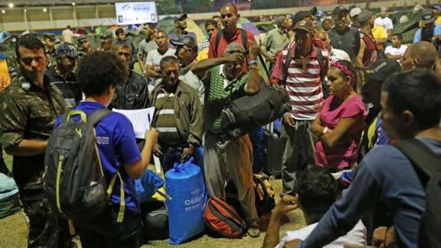 Brasil brinda campamentos a unos 500 venezolanos que vivían en las calles