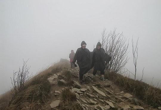 Grzbiet Smereka schodzący na Przełęcz Orłowicza.