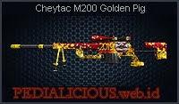 Cheytac M200 Golden Pig