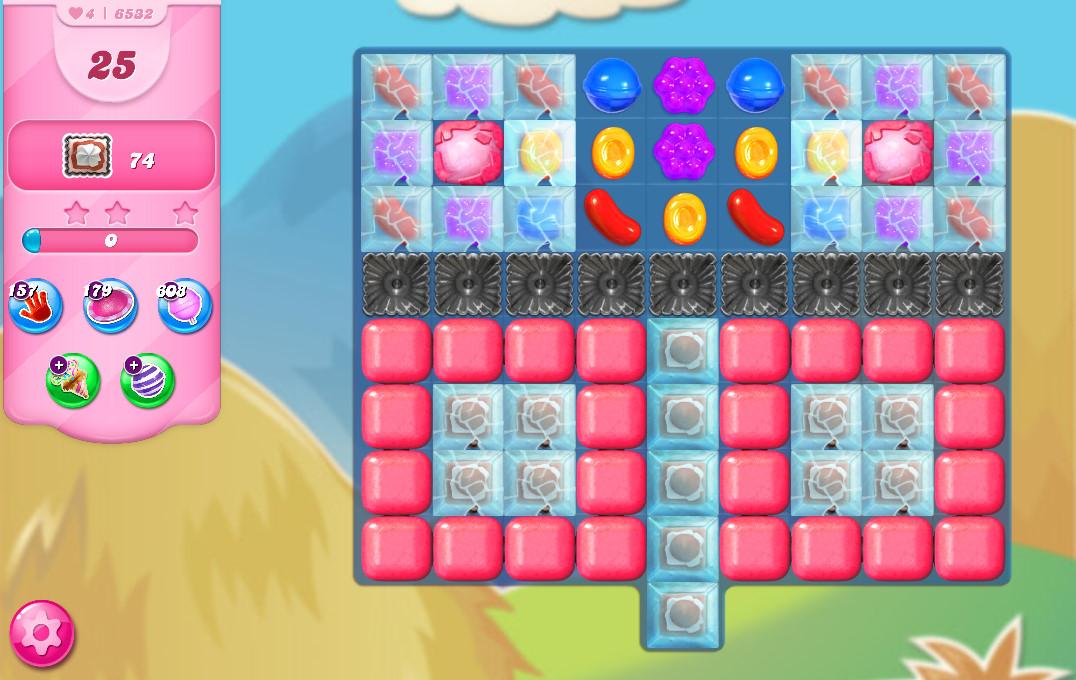 Candy Crush Saga level 6532