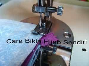 Cara Bikin Hijab Sendiri - Cara Membuat Jilbab Sendiri Di Rumah