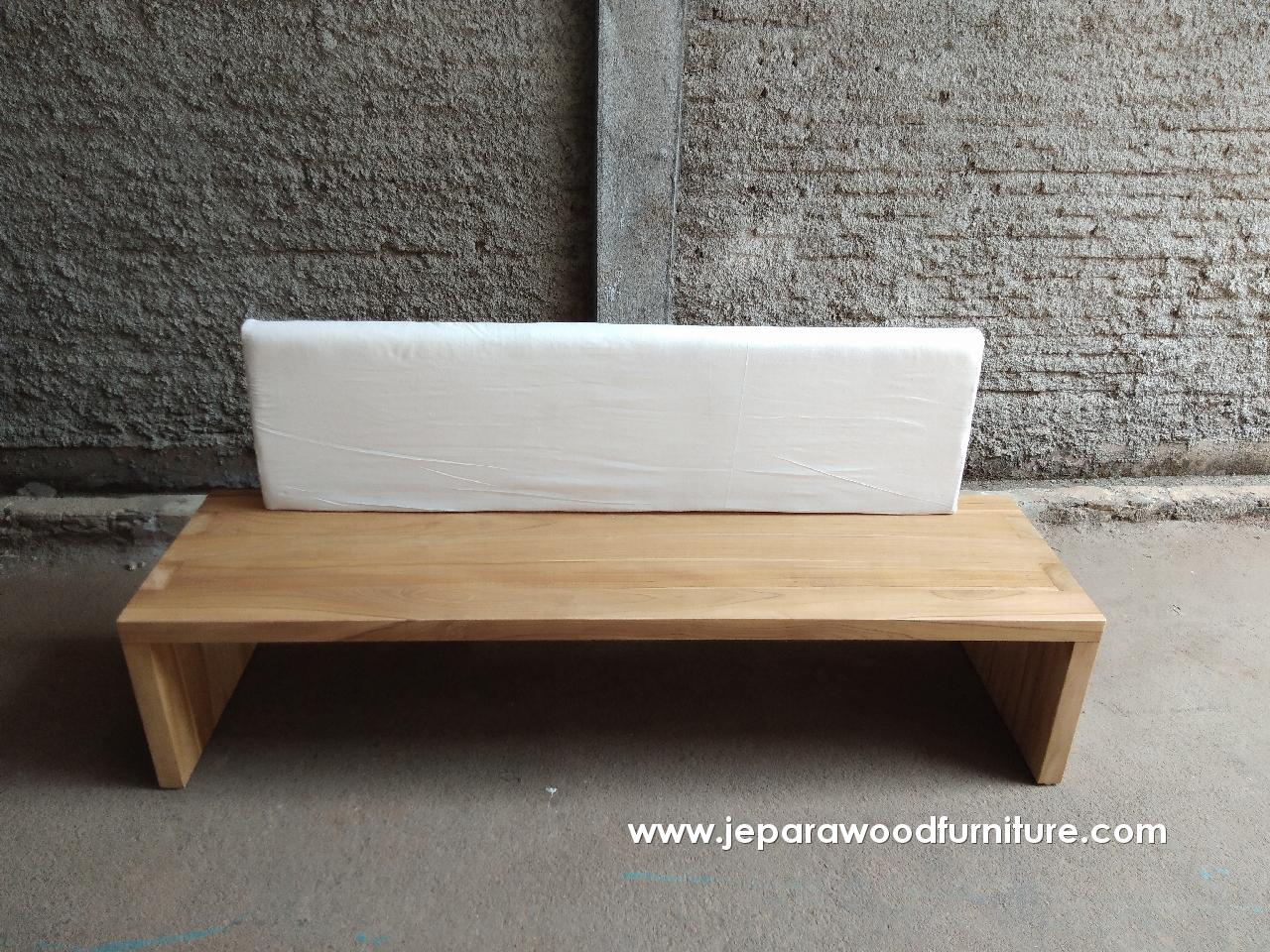 Teak Outdoor Seater