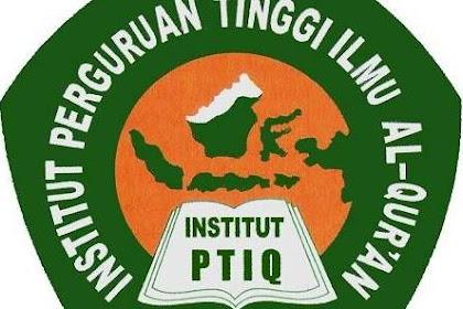Pendaftaran Mahasiswa Baru (Institut PTIQ-Jakarta) 2021-2022