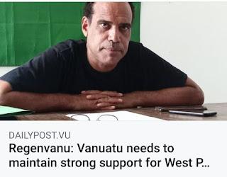 Regenvanu: Vanuatu perlu mempertahankan dukungan kuat untuk Papua Barat