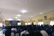 Ratusan Mahasiswa Kukerta STIA-NUSA, Dapat Wawasan Kamtibmas