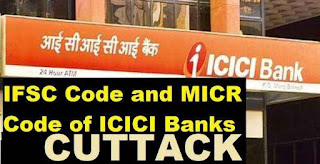 ifsc code of icici bank in cuttack branches