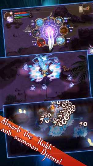 Game Petualangan RPG Offline Android Djinn Caster MOD APK