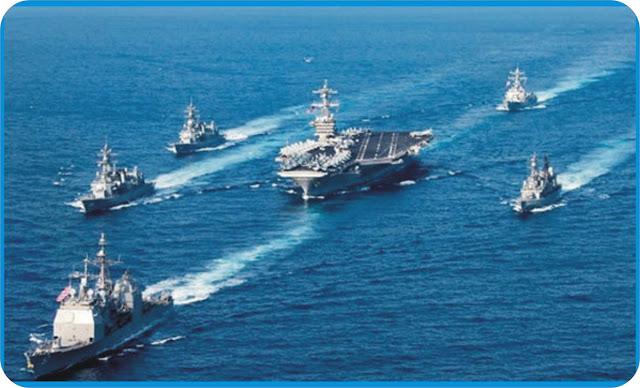 US warships