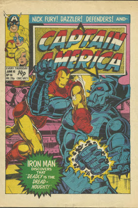 Captain America #16, Iron Man