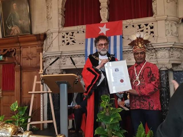 Indonesia Kecam Keras Penghargaan untuk Tokoh Separatis Benny Wenda