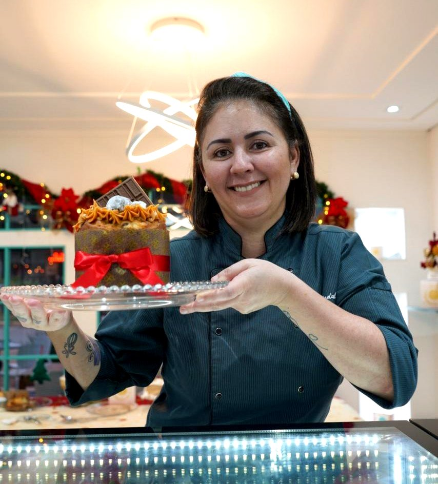 Cardápio de Natal da Confeitaria Maria Brulle, em Águas Claras