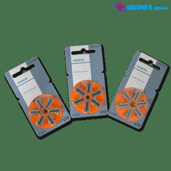 Baterai Alat Bantu Dengar Siemens s13