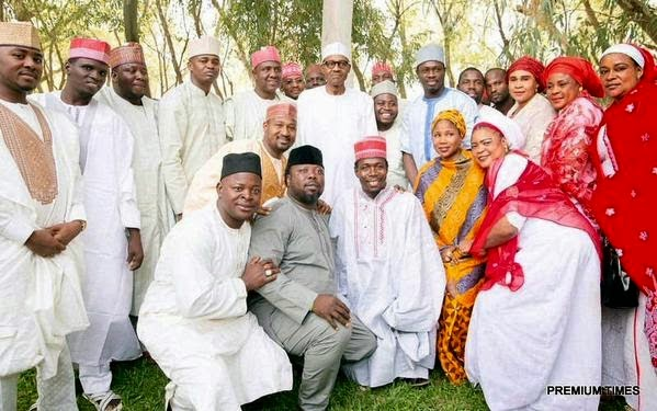 buhari kannywood stars