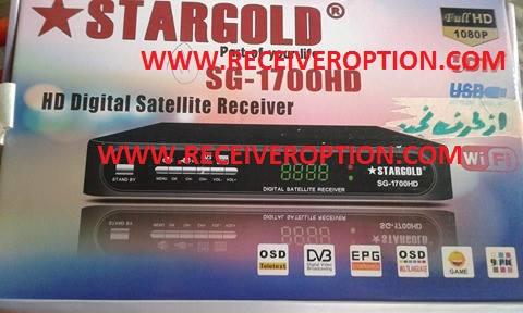 STARGOLD SG-1700HD RECEIVER FLASH FILE