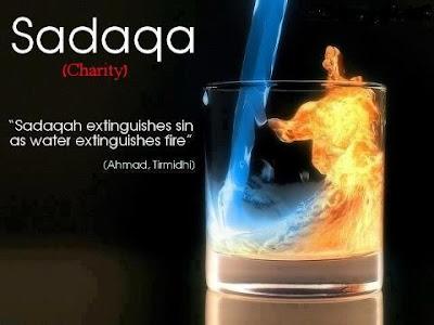 Hadith about Sadaqah
