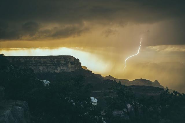 Lightning Strike - Photo by Tim Trad on Unsplash