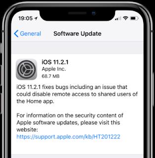 iOS 11.2.1 released with HomeKit fix