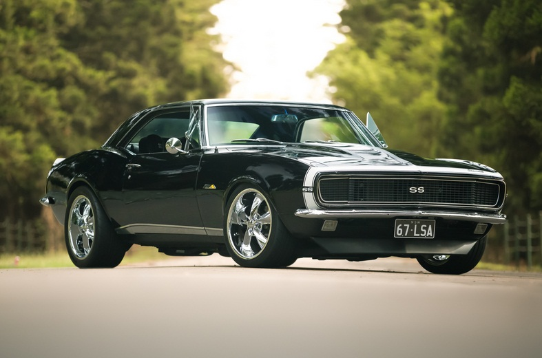 muscle car collection : 1967 chevrolet camaro rs ss lsa modify