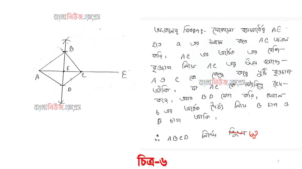 একটি কাঠের বাক্সের দৈর্ঘ্য = 30 সে.মি. এবং প্রস্থ = 16 সে.মি. হলে, কাঠের বাক্সের দৈর্ঘ্যের অংশের সমান পরিসীমা বিশিষ্ট একটি সমবাহু ত্রিভুজ আঁক। (অঙ্কনের চিহ্ন আবশ্যক) https://www.banglanewsexpress.com/