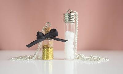 DIY, diy necklace, jar necklace, easy jar necklace, gift ideas, diy craft ideas, crafts
