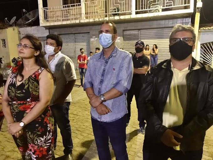 Prefeito Júnior de Rivaldo participa da festa de São Sebastião na comunidade Serrinha da Prata