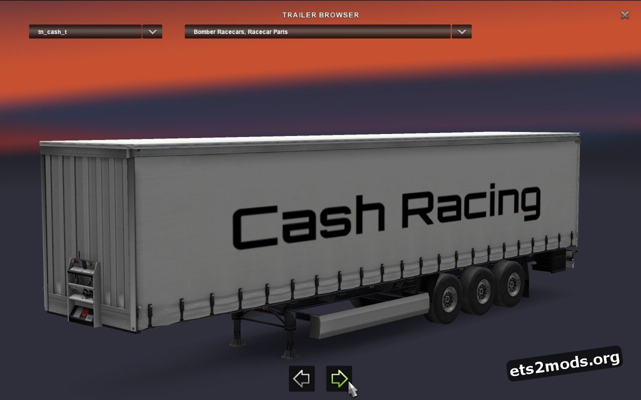 Trailer Cash Racing