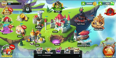 Mighty Party: Heroes Clash MOD